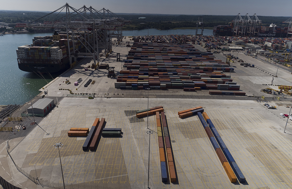 Southamptons container terminal continues to grow dp world southamptons container terminal continues to grow m4hsunfo